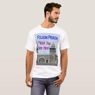 Folsomの刑務所: 願いワイシャツここにいました tシャツ