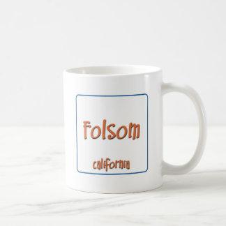 FolsomカリフォルニアBlueBox コーヒーマグカップ