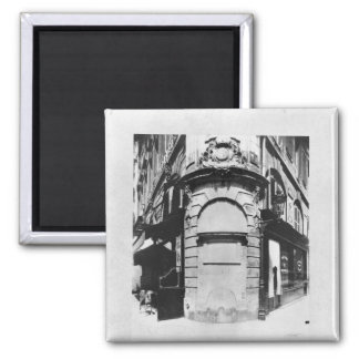 Fontaine de la Reineの通り聖者デニス、パリ マグネット