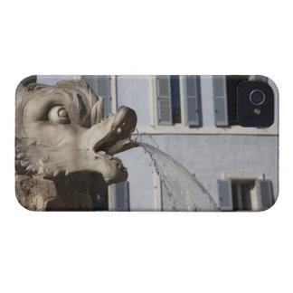 Fontana de la Pantheonの魚の詳細 Case-Mate iPhone 4 ケース