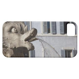 Fontana de la Pantheonの魚の詳細 iPhone SE/5/5s ケース