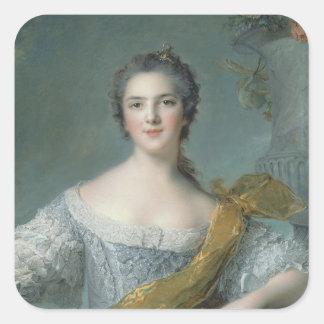 Fontevrault 1748年のVictoire deフランス スクエアシール