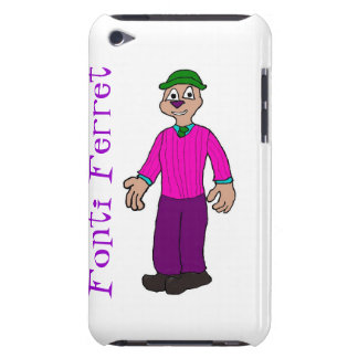 Fontiのフェレットのipod touchの場合 Case-Mate iPod touch ケース