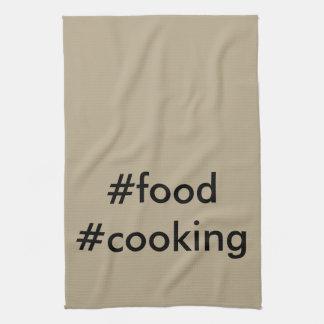 #foodの#cooking皿タオルのバーベキューのパーティーの調理師のシェフ キッチンタオル