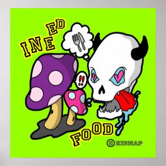 Food-Skull ポスター