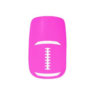 Football Mom or Girlfriend Cute Custom Color Nails ネイルアート