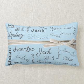For Grandmother   Grandchildren Names Collage ランバークッション