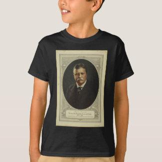 Forbesの石版印刷によるセオドア・ルーズベルト大統領 Tシャツ