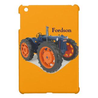 Fordsonのトラクターのクラシックなハイキングのアヒル iPad Miniカバー