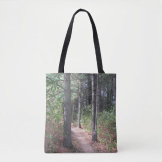 Forest Trees Double Sided Tote Bag トートバッグ