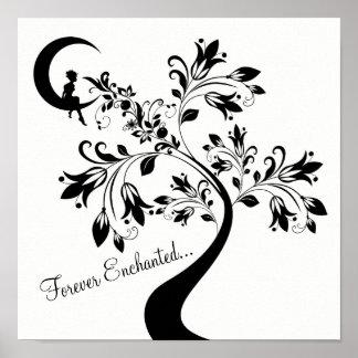 Forever Enchanted ~ Moon Love Girl ~ Flower Tree ポスター