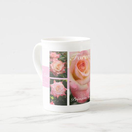 Forever Princess Diana:Rosa Elegant Lady ボーンチャイナカップ