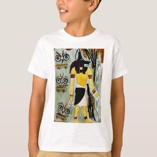 forheatanubis.jpg Anubisエジプトのフクロウ Tシャツ