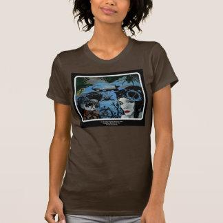 「Forms飛行船の大尉計画」の女性ワイシャツ Tシャツ