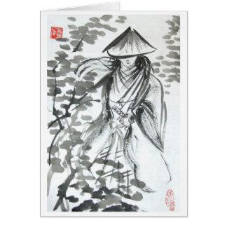 Forst空白のなカードの武士 カード