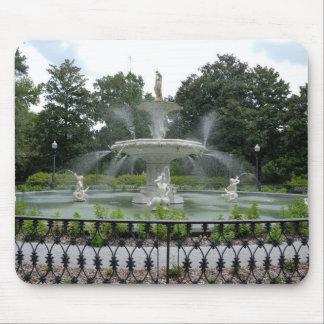Forsyth公園の噴水 マウスパッド