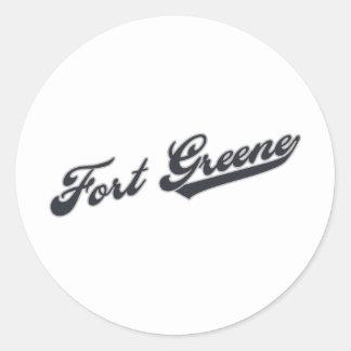 Fort Greene ラウンドシール