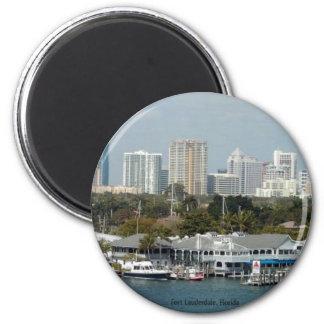 Fort Lauderdaleのスカイライン マグネット