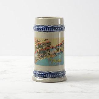 Fort LauderdaleフロリダFLのヴィンテージ旅行記念品 ビールジョッキ