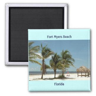 Fort Myersのビーチフロリダ マグネット