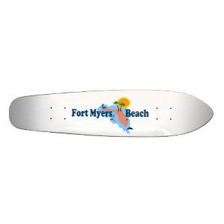 Fort Myers浜 オリジナルスケートボード