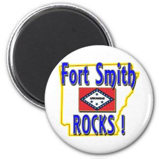 Fort Smithの石! (青) マグネット