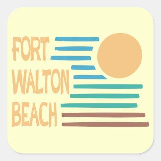 Fort Walton Beachの幾何学的設計 スクエアシール