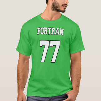 FORTRAN 77: FORTRANプログラマーのために白いですか緑 Tシャツ