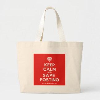 Fostino穏やか、保存保って下さい ラージトートバッグ
