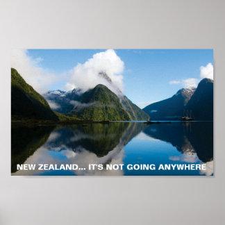 FOTCポスターニュージーランドのそれはどこでも行っていません ポスター