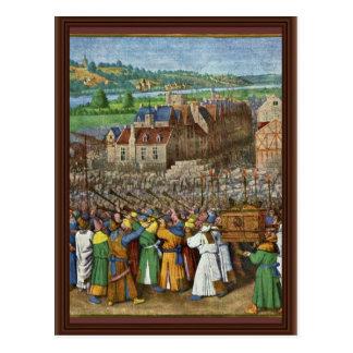 Fouquetジーン(最も最高のなQual著エリコのトランペット ポストカード