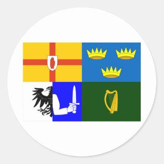 Four_Provinces_Flag ラウンドシール