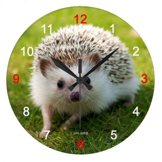 Four-toed hedgehog ラージ壁時計
