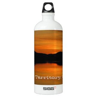 fox湖の日没; ユーコン準州領域の記念品 ウォーターボトル