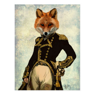 Fox Full 2海軍大将 はがき