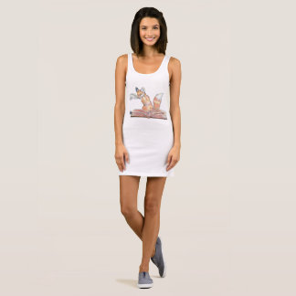 Fox Scribe 袖なしドレス