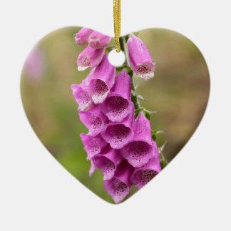 Foxcloveの共通の花 セラミックオーナメント