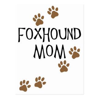 Foxhoundのお母さん ポストカード