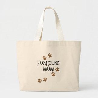 Foxhoundのお母さん ラージトートバッグ