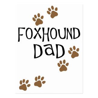 Foxhoundのパパ ポストカード