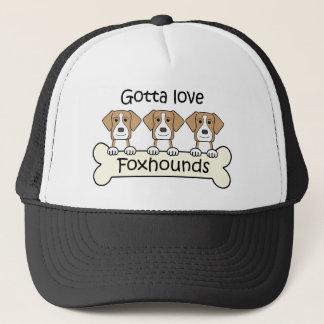 Foxhoundを愛するために得られる キャップ