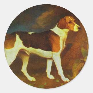 Foxhound、ジョージStubbs著Ringwod ラウンドシール