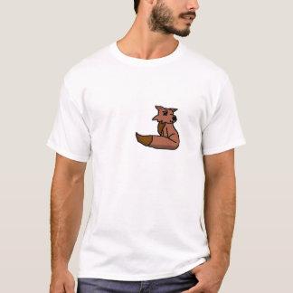 Foxieピクセル Tシャツ