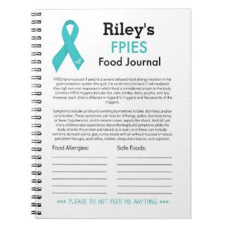 FPIESの食糧ジャーナル ノートブック