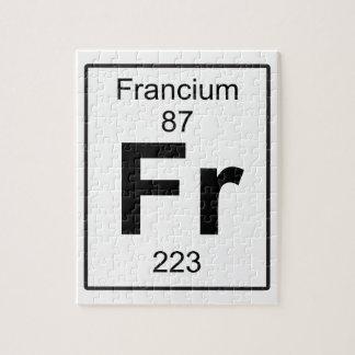 Fr -フランシウム ジグソーパズル