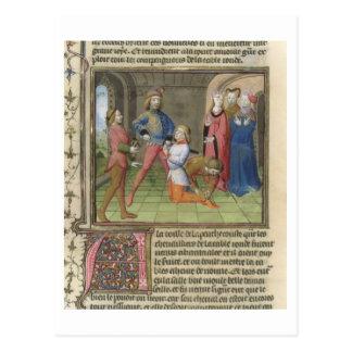 Fr.120 f.522v 「からのLancelotのナイト爵に叙すること 葉書き