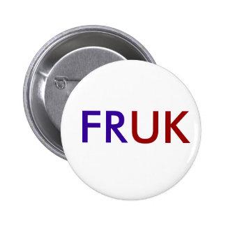 FR/UK 5.7CM 丸型バッジ