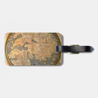 Fraマウロの世界地図 ラゲッジタグ