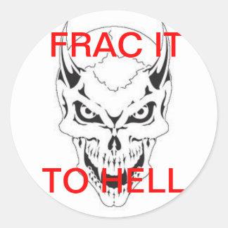 FRACの悪魔 ラウンドシール