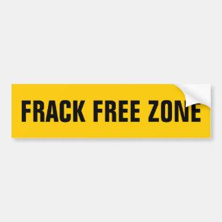 FRACKの自由地帯 バンパーステッカー